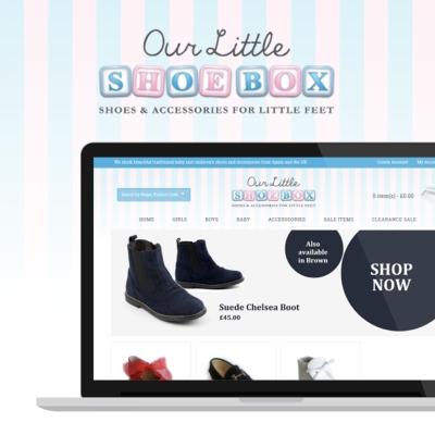 Our Little Shoe Box Website Launches (Eltham, Kent)