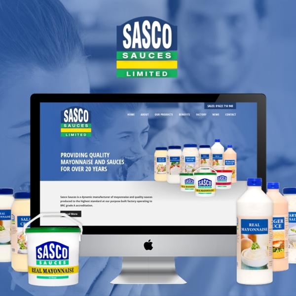 Sasco Sauces Website Launches (Ashford, Kent)