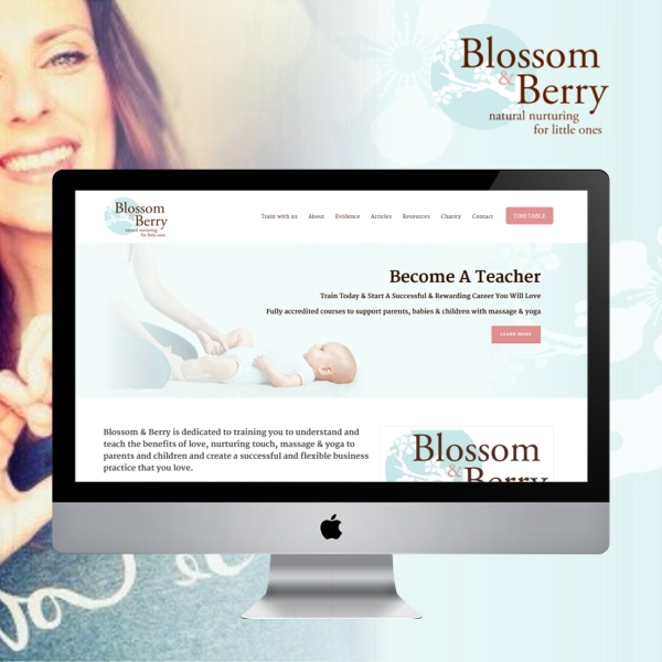 Blossom & Berry Website Launches (London)