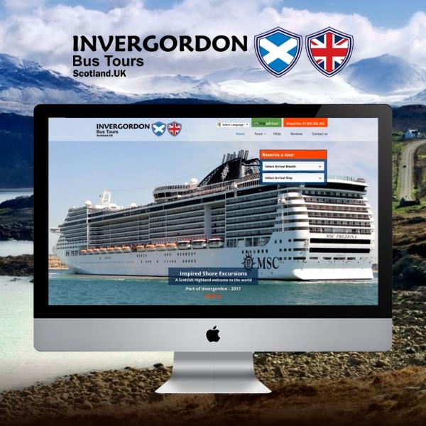 Invergordon Bus Tours Website Launches (Invergordon, Scotland)